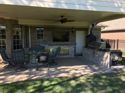 Patio Installation, Landscape Design, Home Remodeling<br/>Katy, TX